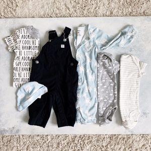 Carter's Baby Boy Bundle 0-3 Months